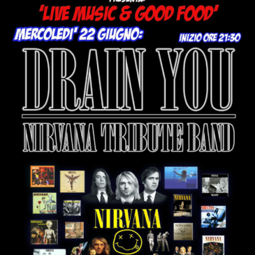 DRAIN YOU: Nirvana Tribute Band